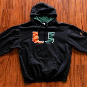 Vintage University of Miami Hoodie